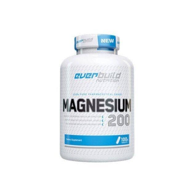 Everbuild Nutrition Magnesium  100 tabl. po 200 mg /tabl.