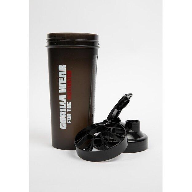 Gorilla Wear Shaker XXL juodas 1000 ml