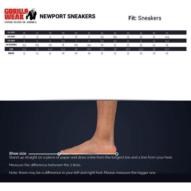 Gorilla Wear Newport Sneakers - Black