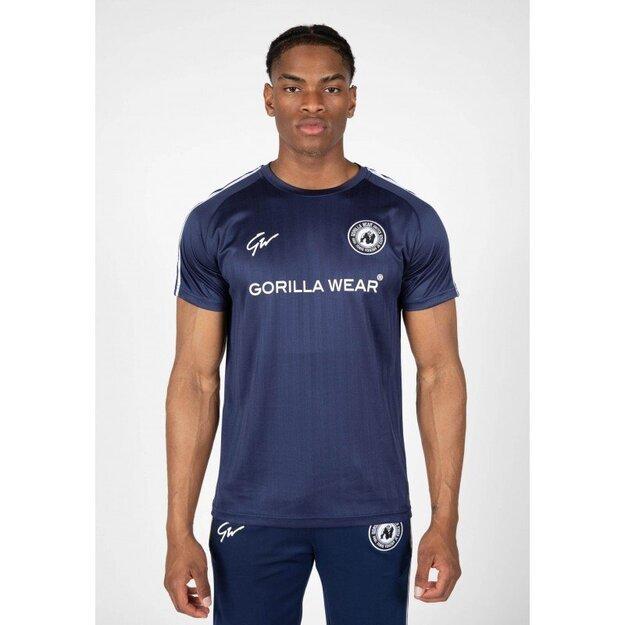 Gorilla Wear Stratford T-shirt - navy blue training T-shirt
