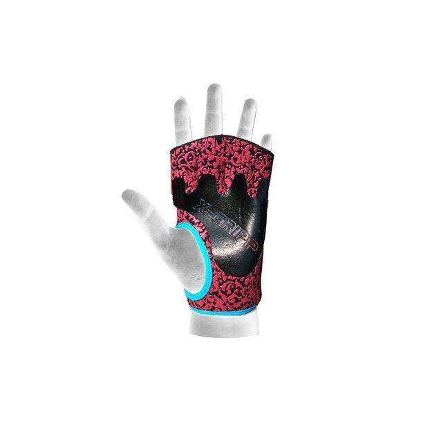 Chiba Lady Motivation Gloves Black/Pink/Turquoise