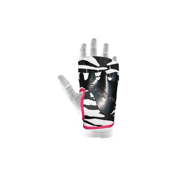 Chiba Lady Motivation Gloves Black/White/Pink