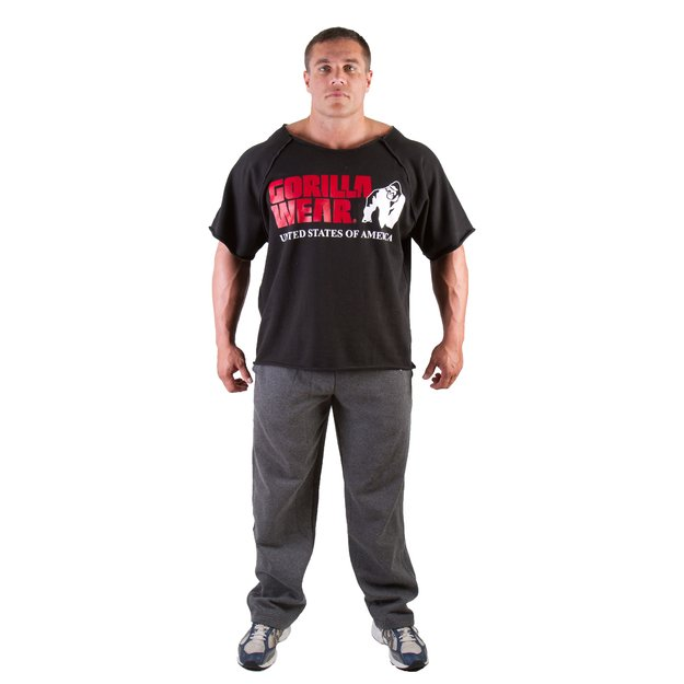 Gorilla Wear Classic Work Out TOP (juoda)