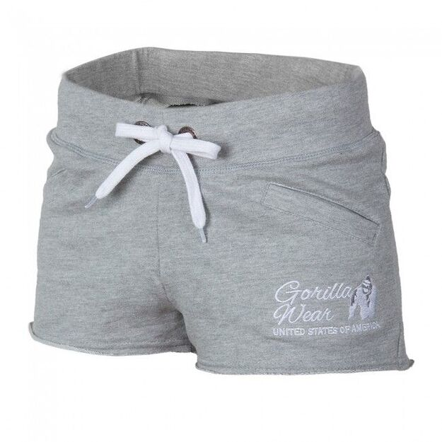 Gorilla Wear Women's New Jersey Sweat Shorts (pilki)