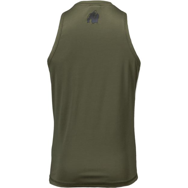 Gorilla Wear Branson Tank Top - Army Green/Black