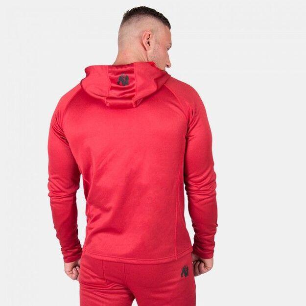 Gorilla Wear Bridgeport Zipped Hoodie - Red