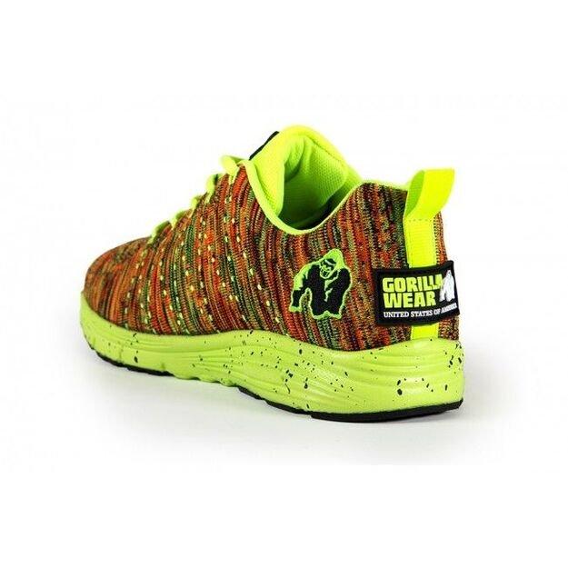 Gorilla Wear Brooklyn Knitted sneakers Neon mix