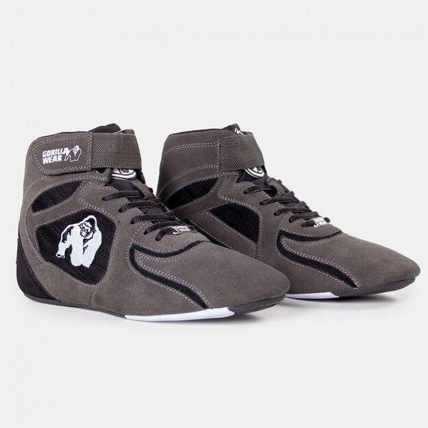 Gorilla Wear Chicago High Tops - Gray/Black