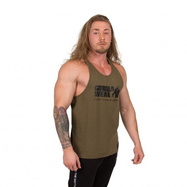 Gorilla Wear Classic Tank Top ARMY GREEN