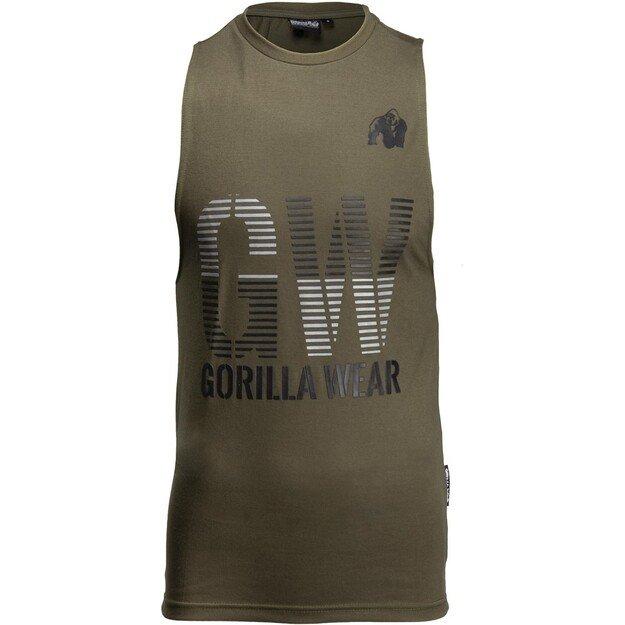 Gorilla Wear Dakota Sleeveless T-shirt - Army Green