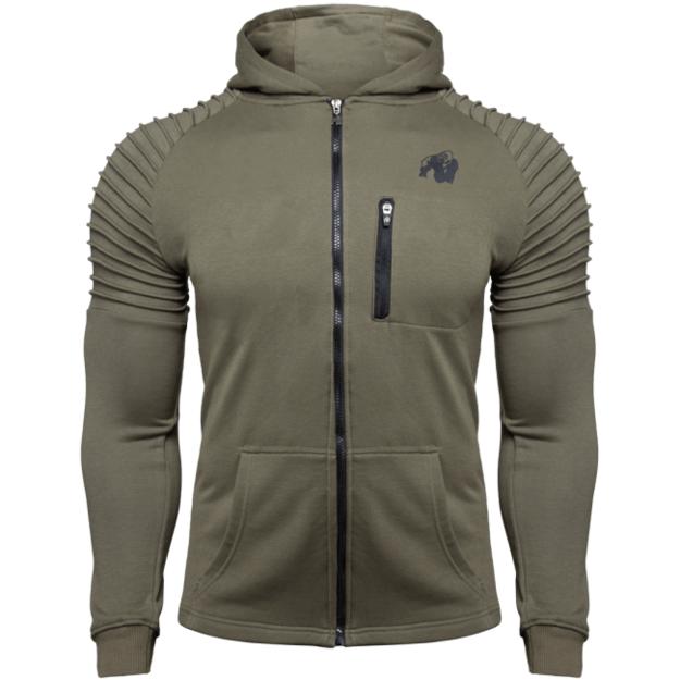 Gorilla Wear Delta Hoodie - Army Green
