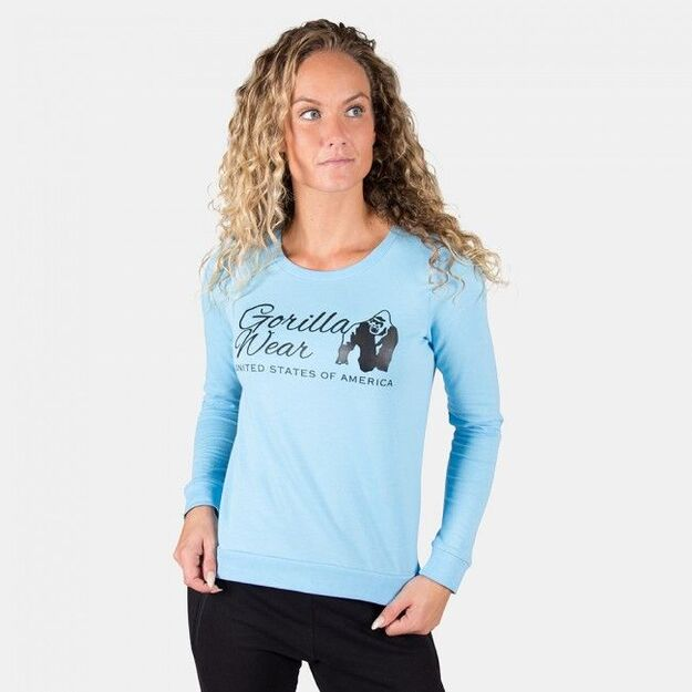 Gorilla Wear Riviera Sweatshirt - Light Blue