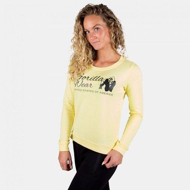 Gorilla Wear Riviera Sweatshirt - Light Yellow