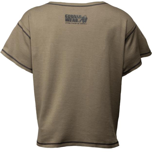 Gorilla Wear Sheldon Workout Top - Army Green