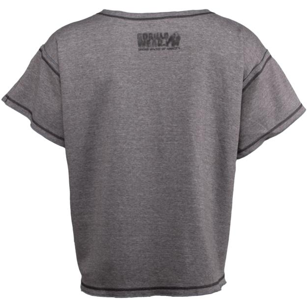Gorilla Wear Sheldon Workout Top - Gray