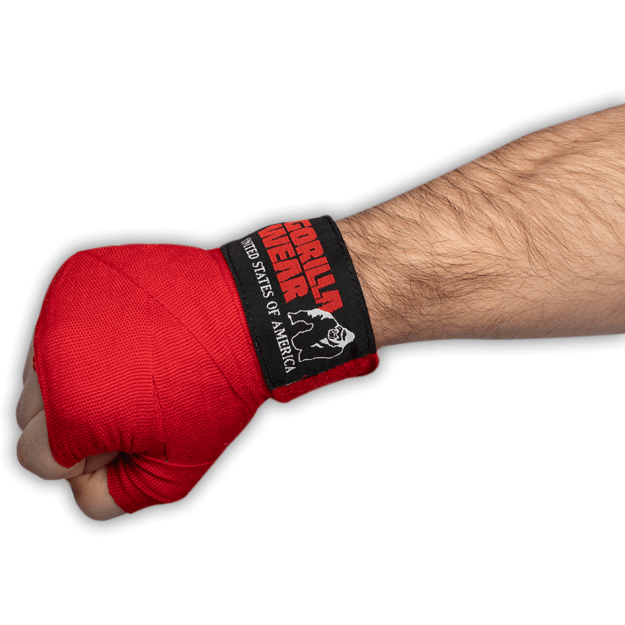 Gorilla Wear Boxing Hand Wraps - Red