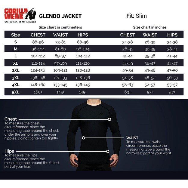 Gorilla Wear Glendo Jacket - Anthracite