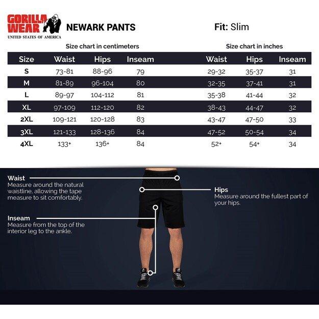 Gorilla Wear Newark Pants - Black