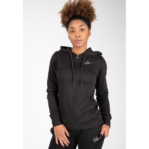 Gorilla Wear Pixley Zipped Hoodie - Black